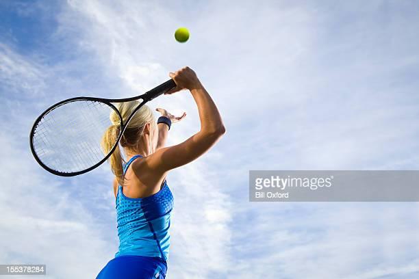 テニスています。