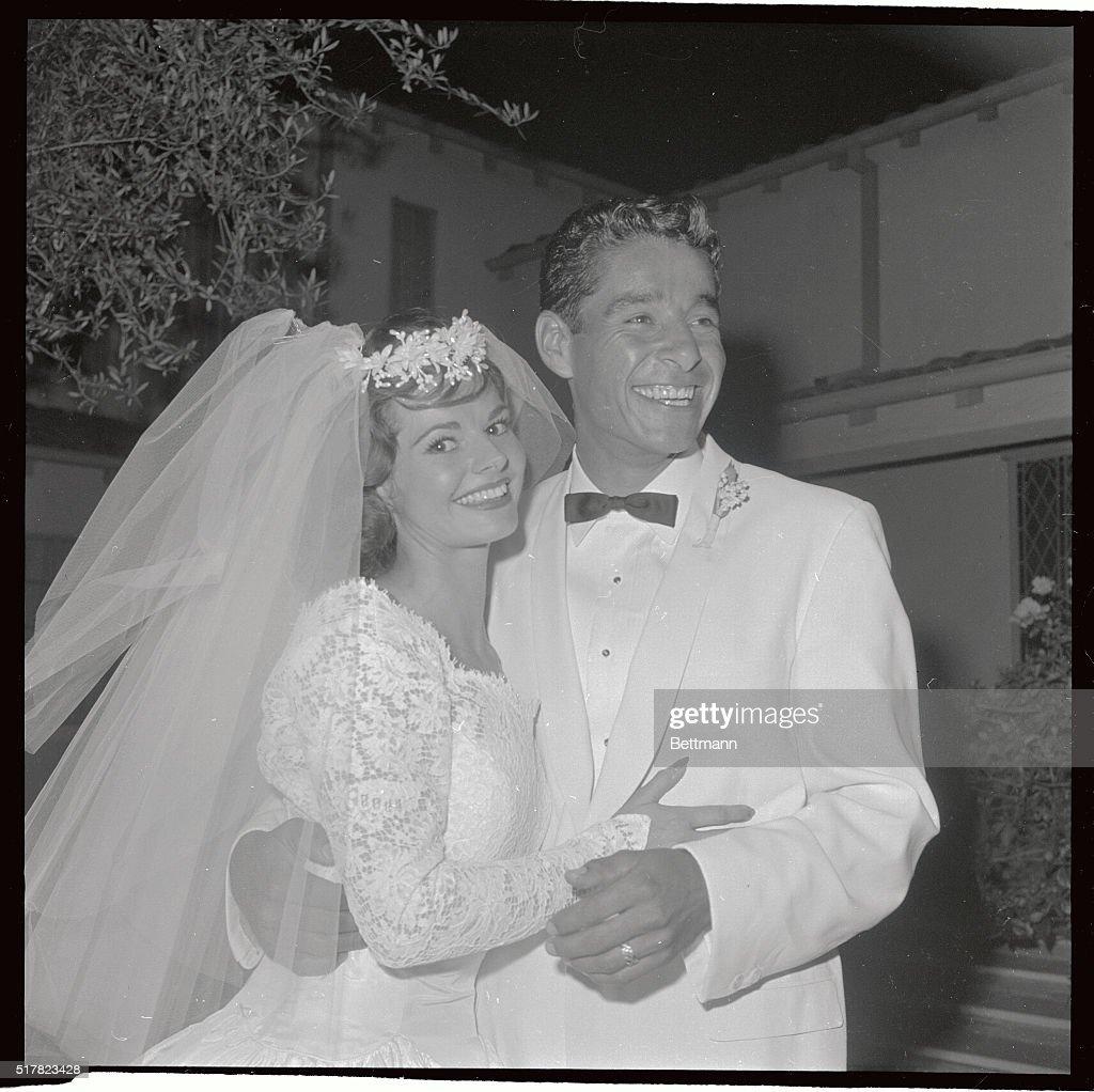 Portrait of Richard Gonzalez with New Bride