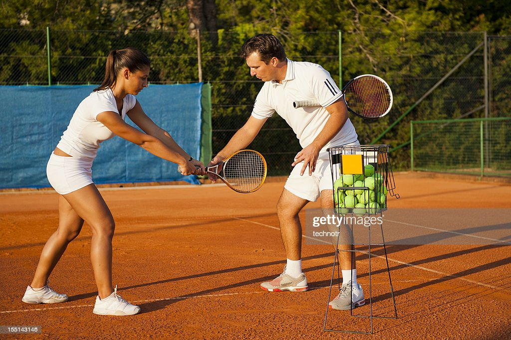 Tennis Teacher Stock Photos, Royalty-Free Images & Vectors ...