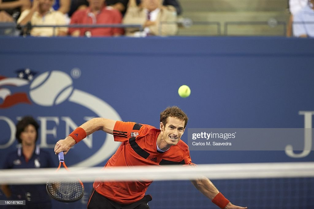 Great Britain Andy Murray in action vs Uzbekistan Denis Istomin during Men's 4th Round at BJK National Tennis Center. Carlos M. Saavedra F146 )