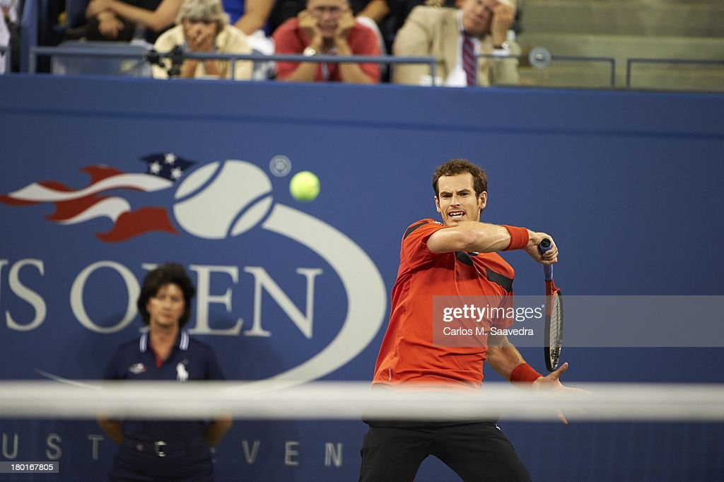 Great Britain Andy Murray in action vs Uzbekistan Denis Istomin during Men's 4th Round at BJK National Tennis Center. Carlos M. Saavedra F162 )