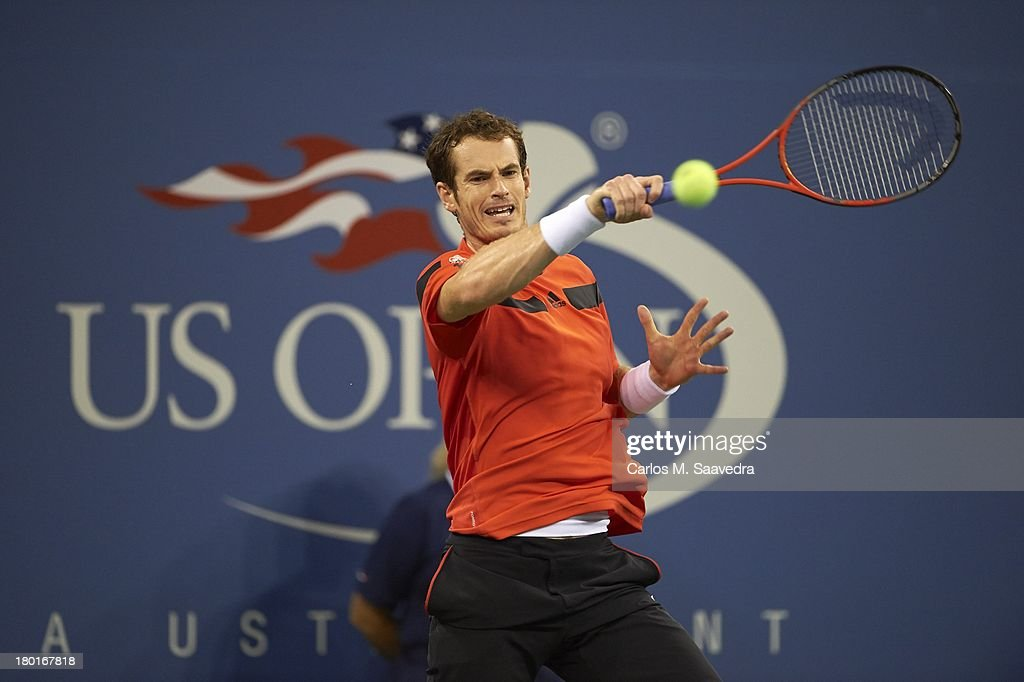 Great Britain Andy Murray in action vs Uzbekistan Denis Istomin during Men's 4th Round at BJK National Tennis Center. Carlos M. Saavedra F251 )