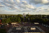 US Open Overall view of the grounds at BJK National Tennis Center Scenic view of The Unisphere at Flushing MeadowsCorona Park Flushing NY CREDIT...