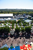 US Open Preview Overall view of grounds before 1st Round on Monday at BJK National Tennis Center Flushing NY CREDIT Erick W Rasco