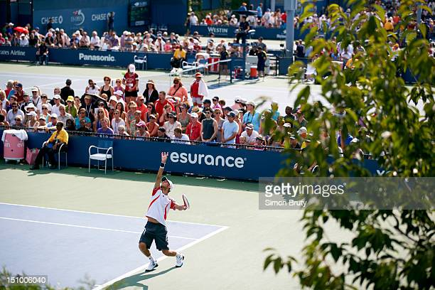US Open Scenic view of fans in stands during Day 2 at BJK National Tennis Center Flushing NY CREDIT Simon Bruty