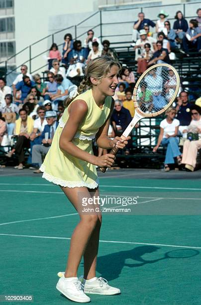 USA Tracy Austin in action CA 10/6/1975 CREDIT John G Zimmerman 079005993