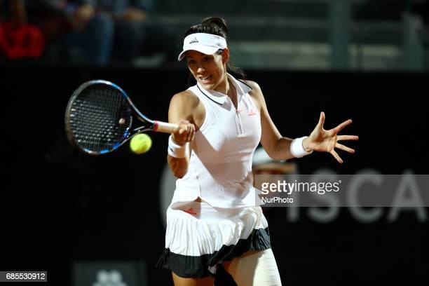 Tennis WTA Internazionali d'Italia BNL quarterfinals Garbine Muguruza at Foro Italico in Rome Italy on May 19 2017