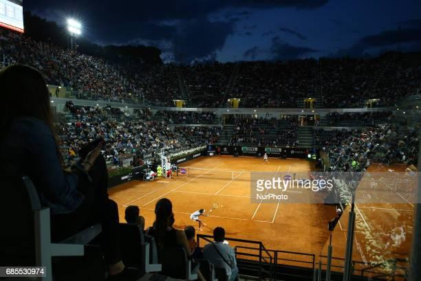 Tennis WTA Internazionali d'Italia BNL quarterfinals Venus Williams v Garbine Muguruza at Foro Italico in Rome Italy on May 19 2017