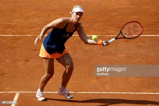 Tennis WTA Internazionali d'Italia BNL Second Round Angelique Kerber at Foro Italico in Rome Italy on May 17 2017