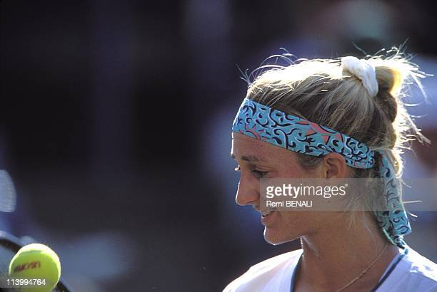 Tennis/US open of flushing meadows In New York United States In September 1994Mary Pierce