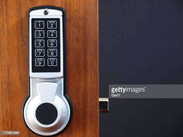 Serrure numérique porte