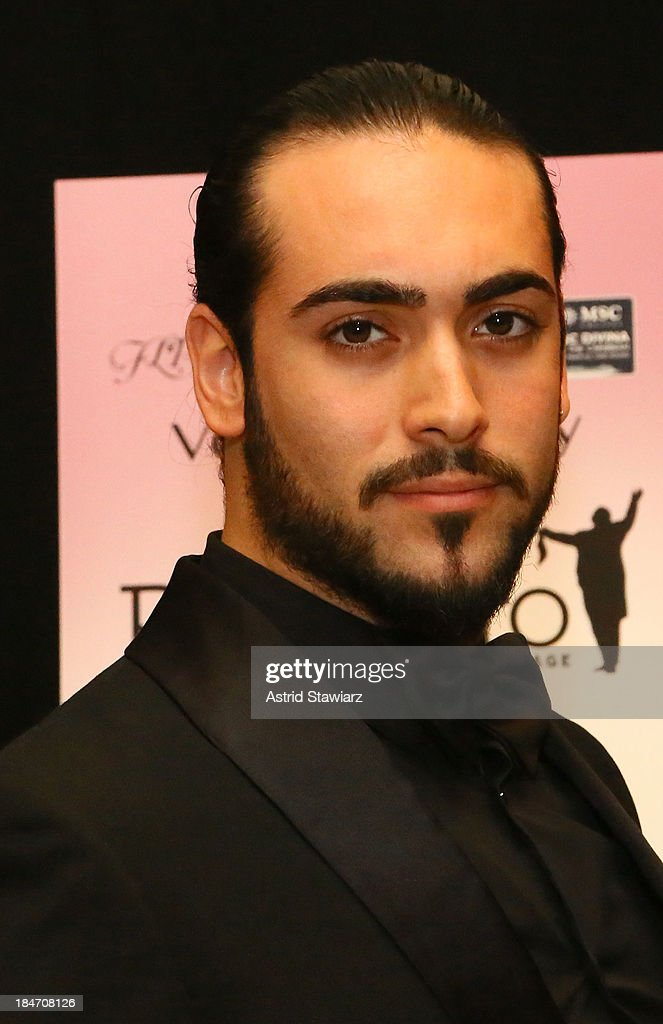 Tenor Stefano Tanzillo attends the 'Voices Of Italy' press preview on October 15, 2013 in New York, United States.