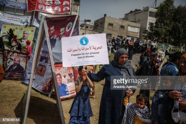 Tens of Palestinian women gather after the call of The Union Of Palestinian Women's Committees which is affiliated with Palestine Liberation...
