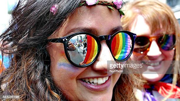 Tens of Thousands of people joined in the London Pride parade which marched along central London on 25 June 2016 The annual celebration is now in its...
