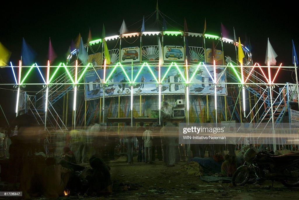 Tent at Pushkar fair