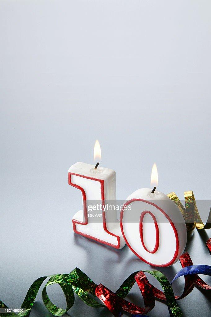 Tenth : Stock Photo