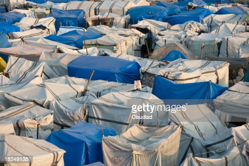 Tents of an IDP camp