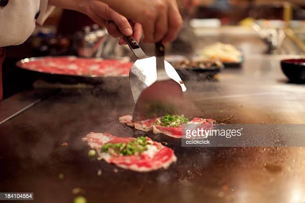 Teppanyaki, japanische Küche