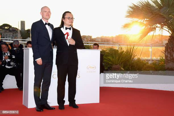 Teppo Airaksinen winner of special mention for his short film 'The Ceiling' and Qiu Yang winner of the award for Best Short for 'A Gentle Night'...