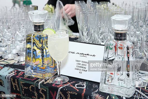 Tequila Bar at the alice olivia x Basquiat CFDA Capsule Collection launch party on November 2 2016 in New York City