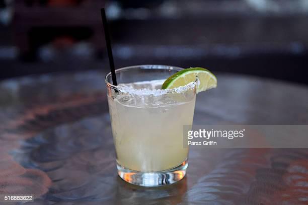 Tequila Herradura Horseshoe Margarita at Casa Herradura on March 21 2016 in Atlanta Georgia