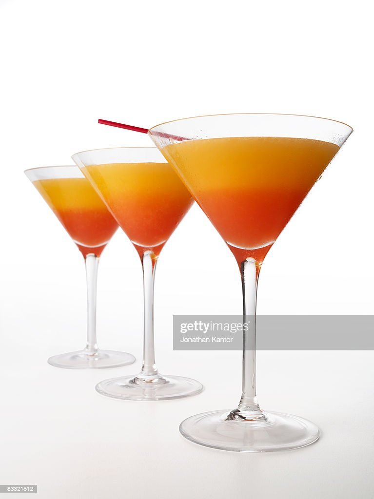 Tequila Sunrise Cocktail : Stock Photo