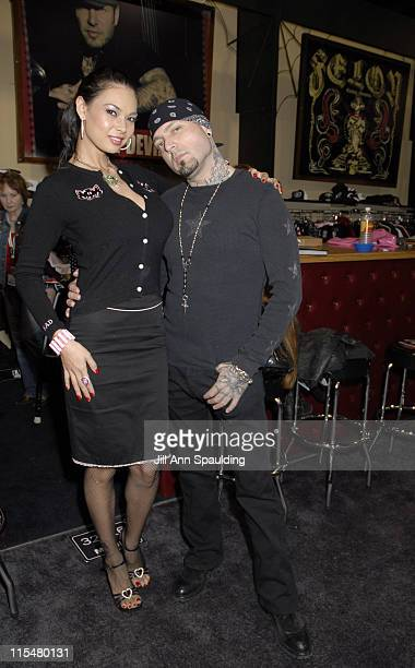 Tera Patrick and Evan Seinfeld during 2007 MAGIC Marketplace Day 2 at Las Vegas Convention Center in Las Vegas Nevada United States