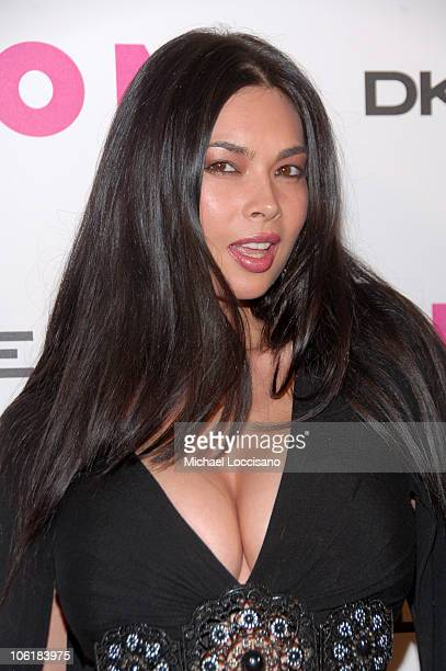 Tera Patrick during Lindsay Lohan Hosts Nylon Magazine's Young Hollywood Issue at Tenjune in New York City New York United States