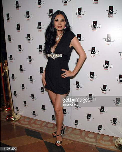 Tera Patrick during Tera Patrick Hosts Mistress Couture Fashion Show April 18 2007 at Tao Nightclub in Las Vegas Nevada United States