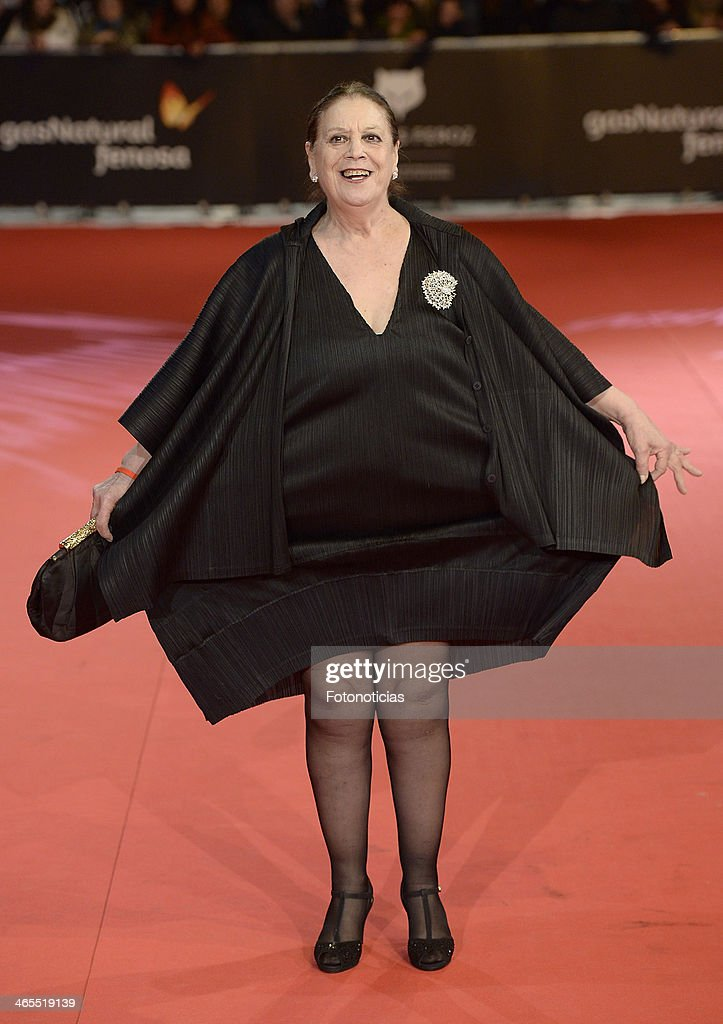Terele Pavez attends 'Feroz Awards 2014' at Callao Cinema on January 27, 2014 in Madrid, Spain.