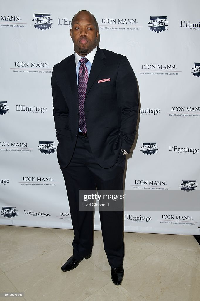 Terell Suggs attends the ICON MANN Pre-Oscar Power 30 Dinner at L'Ermitage Beverly Hills Hotel on February 23, 2013 in Beverly Hills, California.