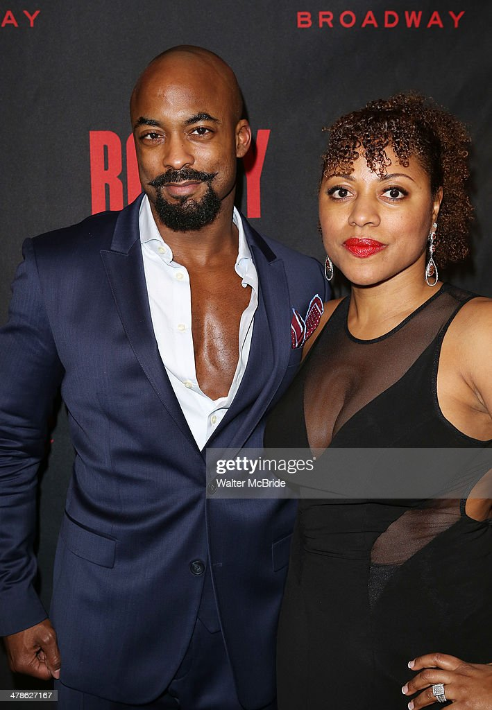 Terence Archie attends the 'Rocky' Broadway Opening Night After Party at Roseland Ballroom on March 13, 2014 in New York City.
