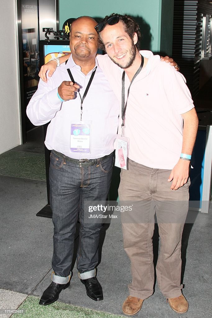 Terence Bernie Hines and Alejandro Berron as seen on June 23, 2013 in Los Angeles, California.