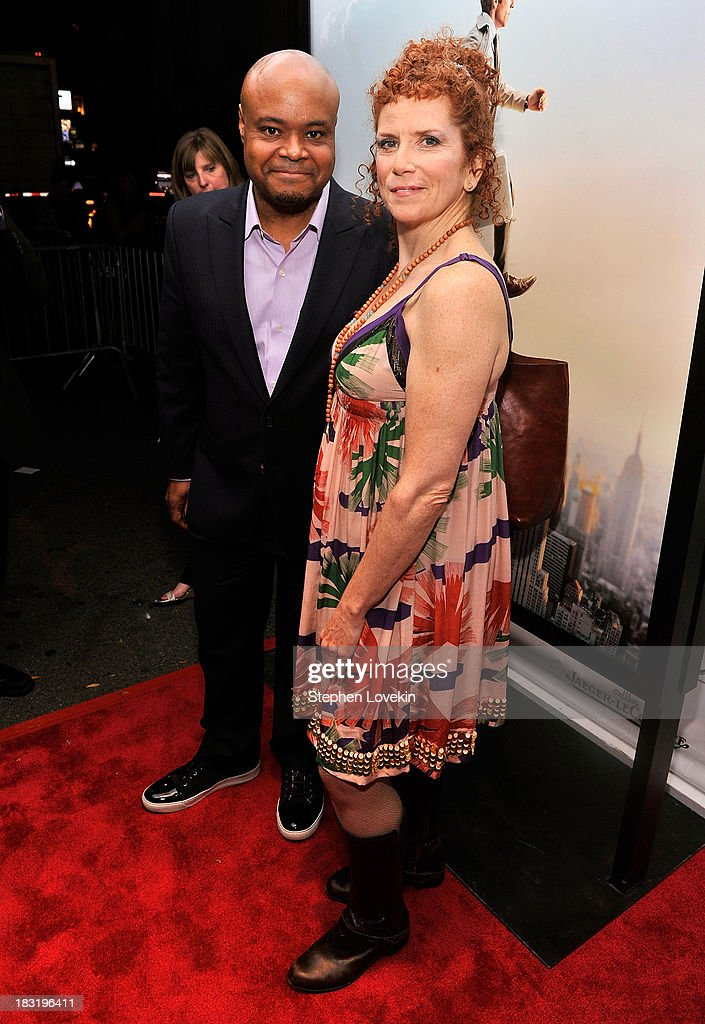 Terence Bernie Hines and Amy Stiller attend the Centerpiece Gala Presentation Of 'The Secret Life Of Walter Mitty' during the 51st New York Film Festival at Alice Tully Hall at Lincoln Center on October 5, 2013 in New York City.