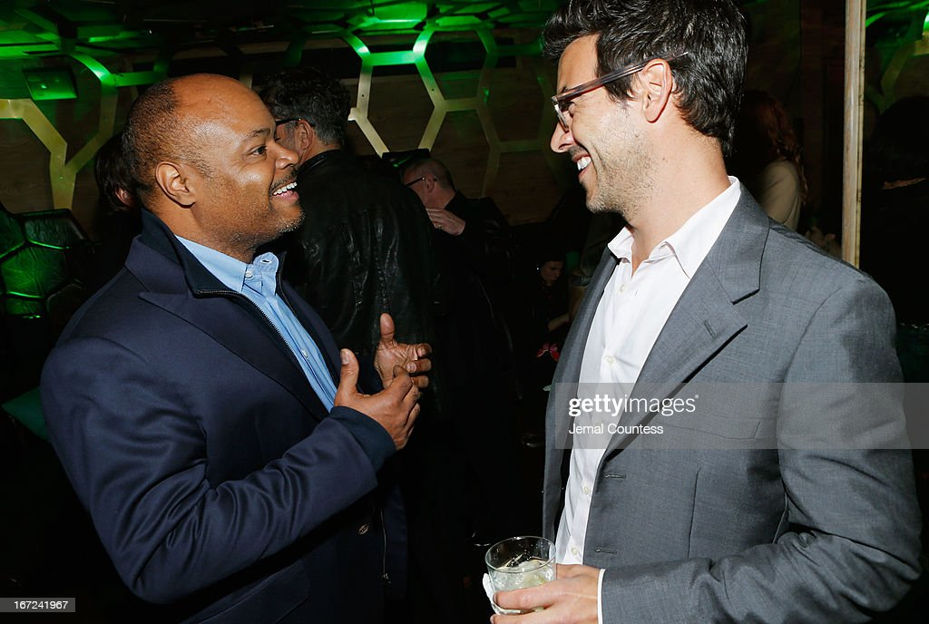 Terence Bernie Hines attends the Tribeca Film Festival 2013 After Party 'Before Midnight' sponsored by Heineken on April 22, 2013 in New York City.
