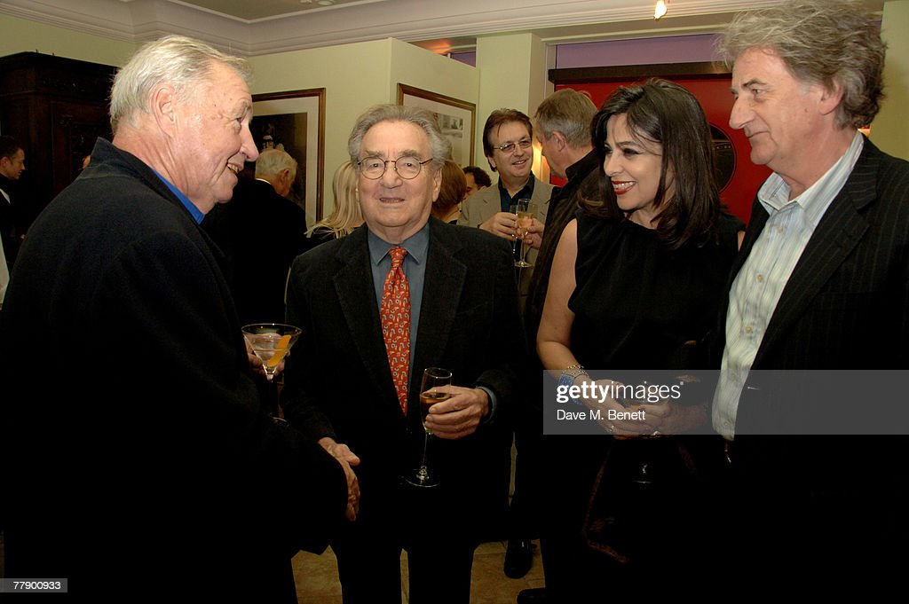 Terence Conran, <a gi-track='captionPersonalityLinkClicked' href=/galleries/search?phrase=Willy+Rizzo&family=editorial&specificpeople=2064152 ng-click='$event.stopPropagation()'>Willy Rizzo</a> with wife Dominique and Paul Smith attend the private view of <a gi-track='captionPersonalityLinkClicked' href=/galleries/search?phrase=Willy+Rizzo&family=editorial&specificpeople=2064152 ng-click='$event.stopPropagation()'>Willy Rizzo</a>'s latest exhibition of photographs and furniture at Paul Smith on Albemarle Street on November 13, 2007 in London, England.