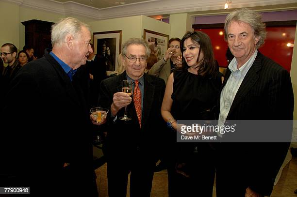 Terence Conran Willy Rizzo with wife Dominique and Paul Smith attend the private view of Willy Rizzo's latest exhibition of photographs and furniture...