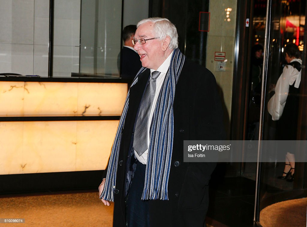 Terence Davies attends the Glashuette 'A Quiet Passion' Pre-Premiere Reception on February 14, 2016 in Berlin, Germany.