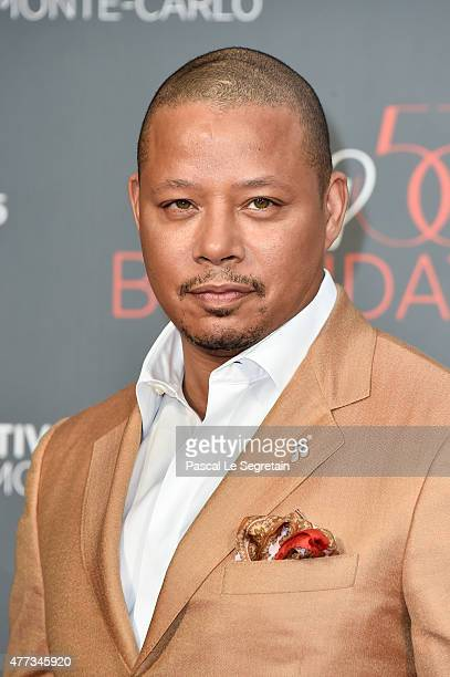 Terence Howard attends the 55th Monte Carlo Beach anniversary as part of Monte Carlo TV Festival on June 16 2015 in MonteCarlo Monaco