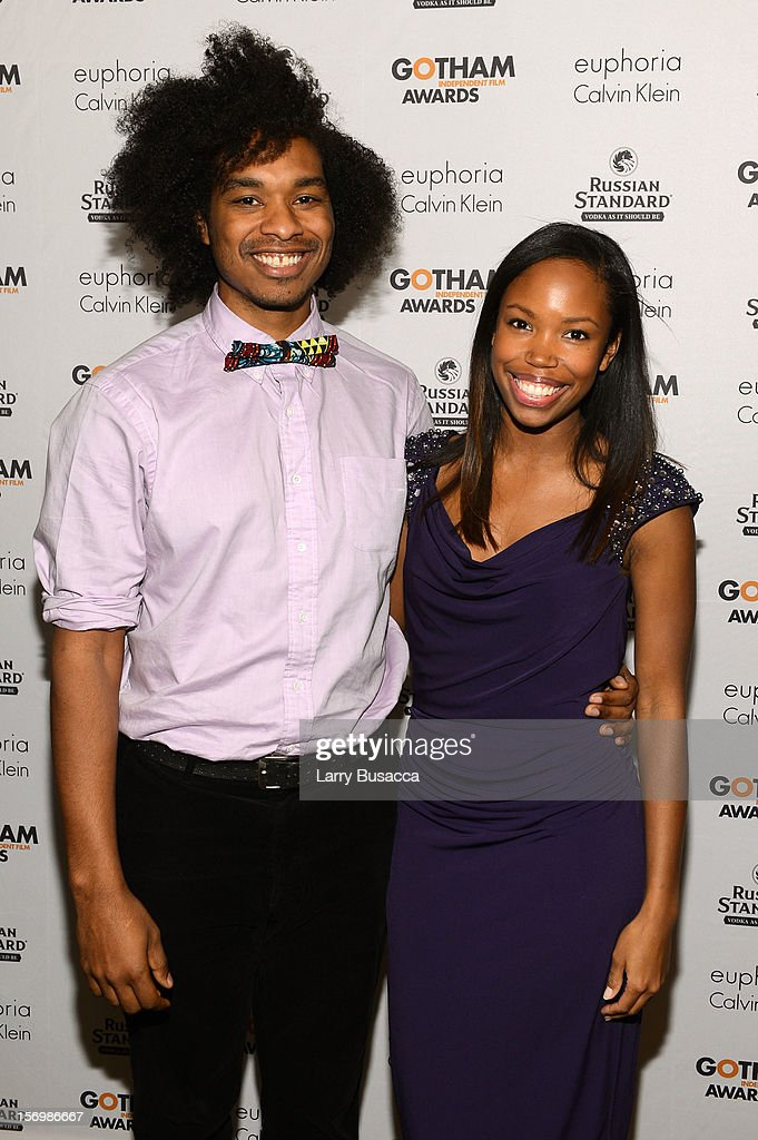 Terence Nance and Namik Minter attend the IFP's 22nd Annual Gotham Independent Film Awards at Cipriani Wall Street on November 26, 2012 in New York City.