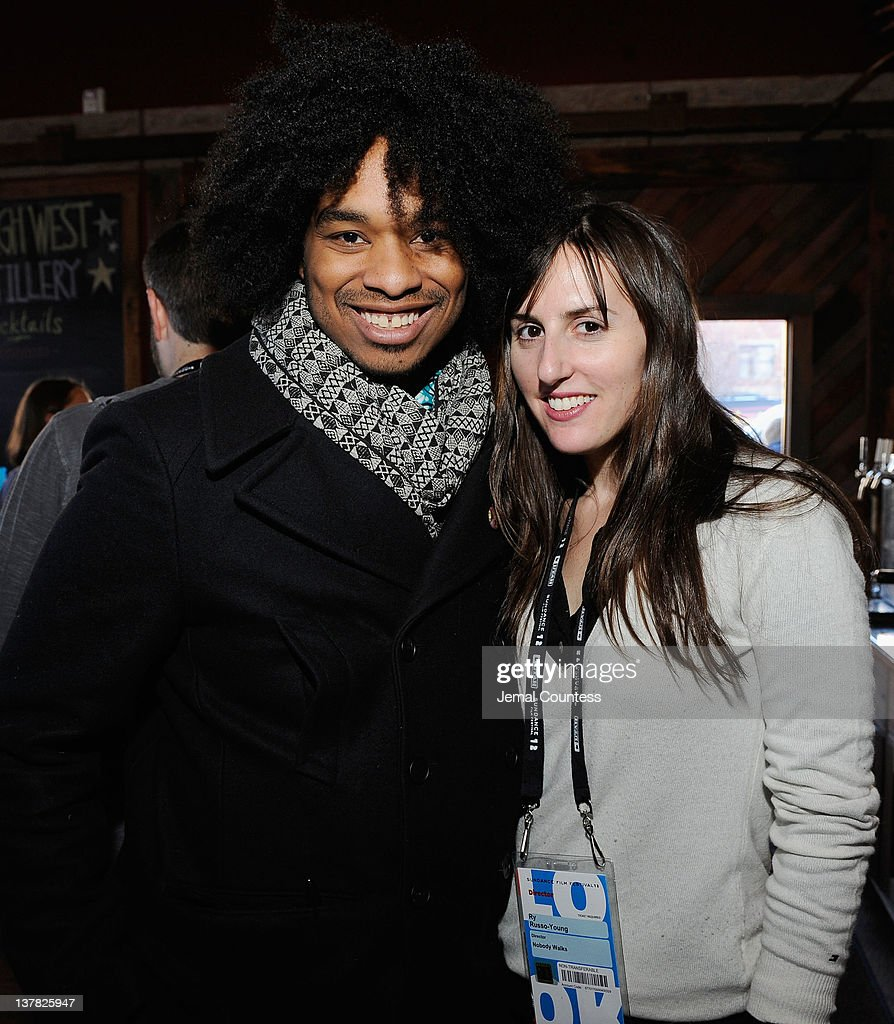 Terence Nance and Ry Russo-Young attend the Alfred P. Sloan Foundation Reception & Prize Announcement during the 2012 Sundance Film Festival on January 27, 2012 in Park City, Utah.
