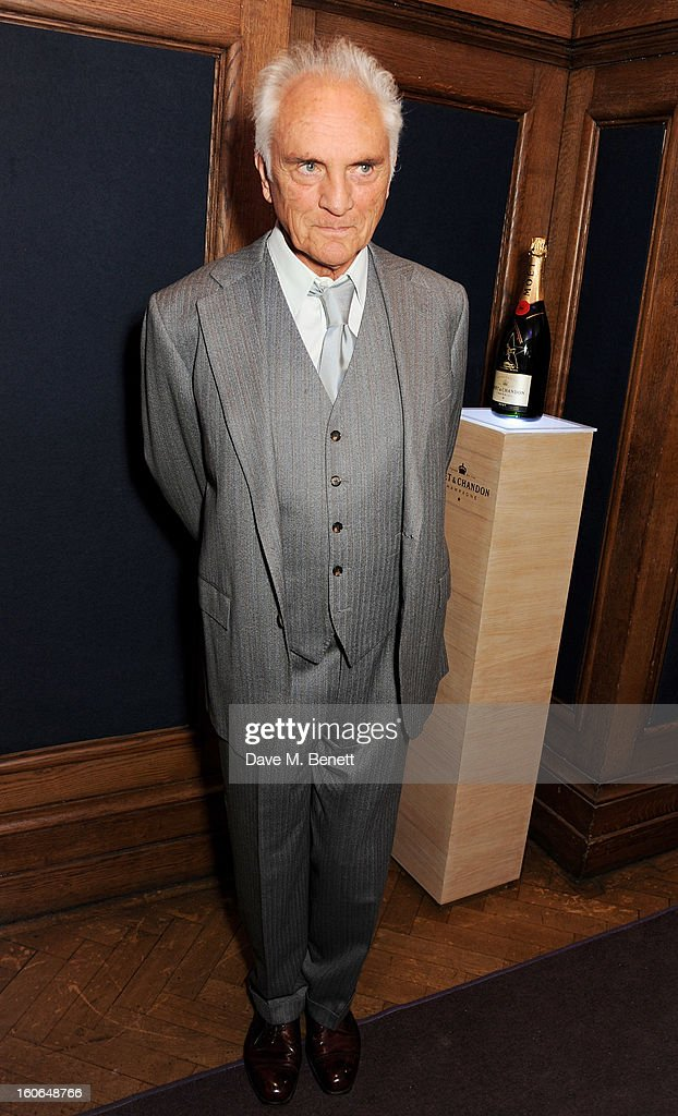 Terence Stamp attends the London Evening Standard British Film Awards supported by Moet & Chandon and Chopard at the London Film Museum on February 4, 2013 in London, England.