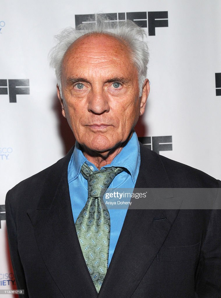 Terence Stamp is awarded the Owens Award at the 54th San Francisco International Film Festival Film Society Awards Night at Bimbo's 365 on April 28, 2011 in San Francisco, California.
