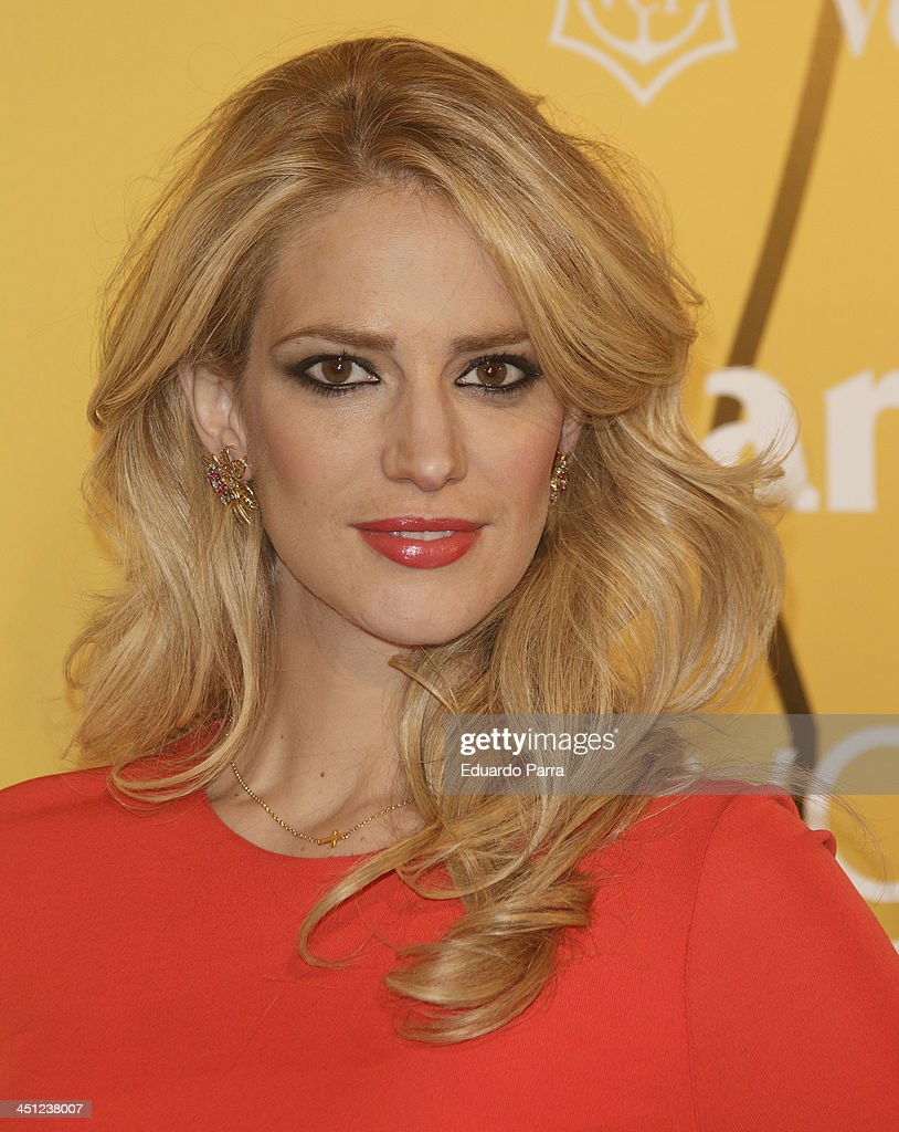 Teresa Baca attends 'Marie Claire Prix de la moda' awards 2013 photocall at Residence of France on November 21 2013 in Madrid Spain