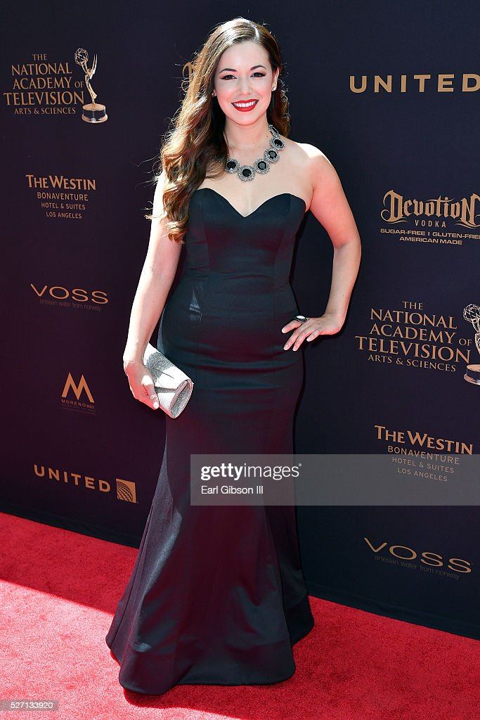 Teresa Castillo arrives at the 43rd Annual Daytime Emmy Awards at the Westin Bonaventure Hotel on May 1, 2016 in Los Angeles, California.