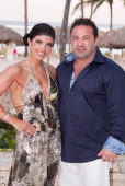Teresa Giudice and Joe Giudice at the Majestic Resort in Punta Cana on March 3 2013 in UNSPECIFIED Dominican Republic