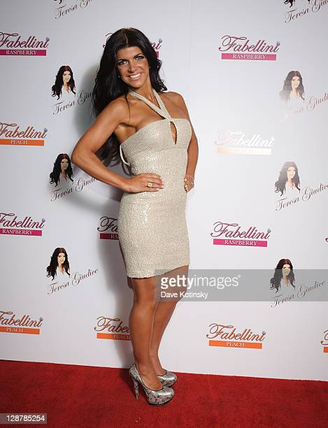 Teresa Giudice attends the Fabellini Wine Launch at Brotherhood Winery on October 7 2011 in Washingtonville New York