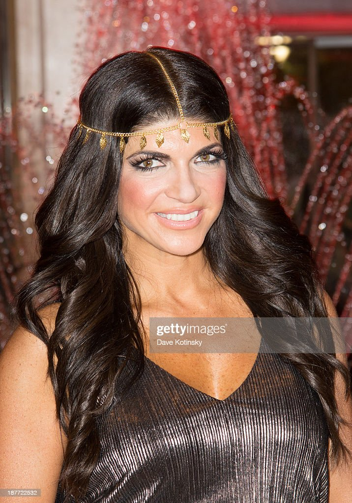 <a gi-track='captionPersonalityLinkClicked' href=/galleries/search?phrase=Teresa+Giudice&family=editorial&specificpeople=5912953 ng-click='$event.stopPropagation()'>Teresa Giudice</a> attends the 'Goddess Night Out' event benefiting Project Lady Bug hosted by Dina Manzo on November 11, 2013 in Garfield, New Jersey.