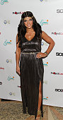 Teresa Giudice attends the 'Goddess Night Out' event benefiting Project Lady Bug hosted by Dina Manzo on November 11 2013 in Garfield New Jersey