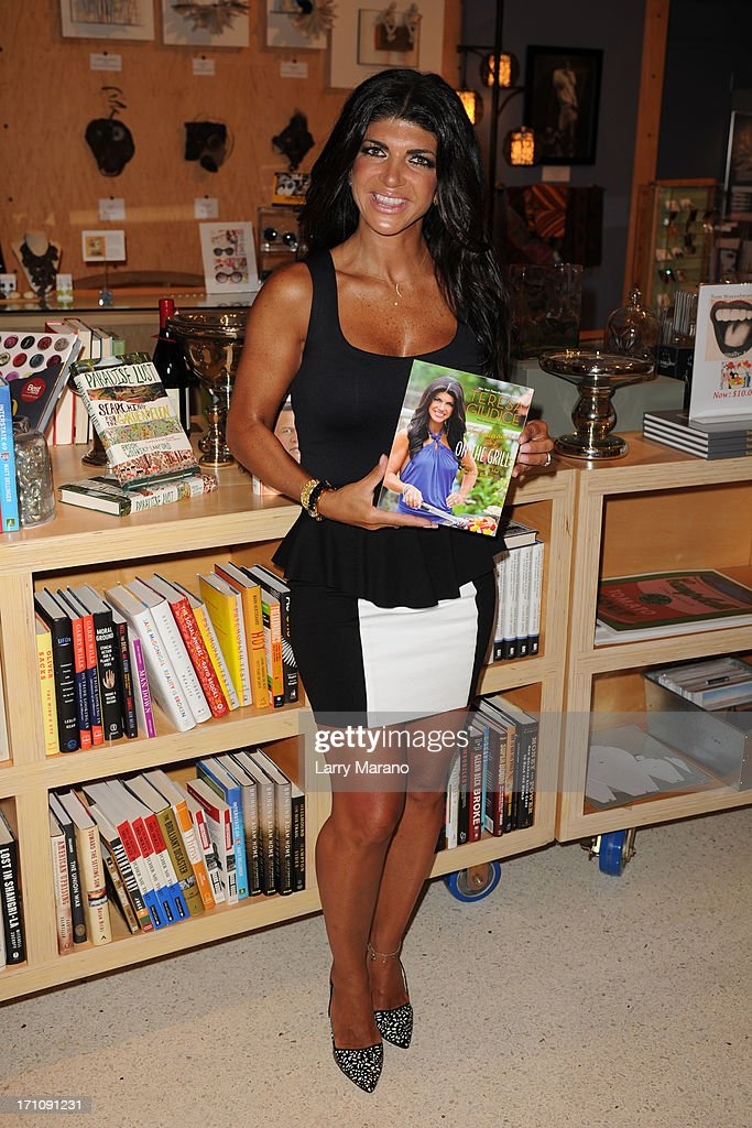 Teresa Giudice greets fans and signs copies of her book 'Fabulicious On The Grill' at Books and Books at Museum of Art on June 21, 2013 in Fort Lauderdale, Florida.